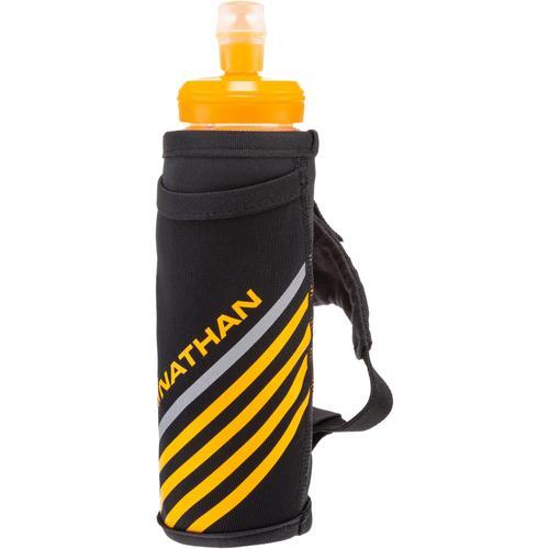 NATHAN ExoShot Trinkflasche in schwarz/blau, Größe OSFM