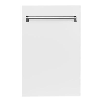 Zline DW-H-18 18 Inch Wide 16 Place Setting Energy Star Rated Built-In Fully Int White Matte