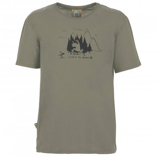 E9 - Living Forest - T-Shirt Gr XL grau