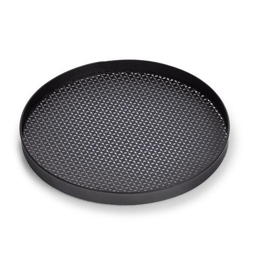 Zeller Present Tablett, Ø 35 cm schwarz Tischaccessoires Geschirr, Porzellan Haushaltswaren Tablett