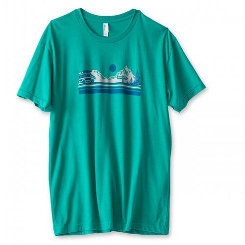 KAVU - Vanishing Point - T-Shirt Gr M türkis