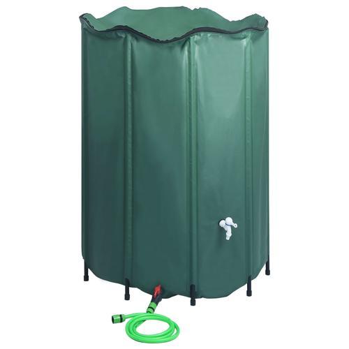 vidaXL Regenwassertank Faltbar mit Hahn 1500 L