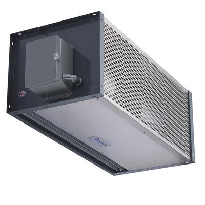 "Berner IDC12-2078A-1 78"" Unheated Air Curtain - (1) Speed, Aluminum, 120v"