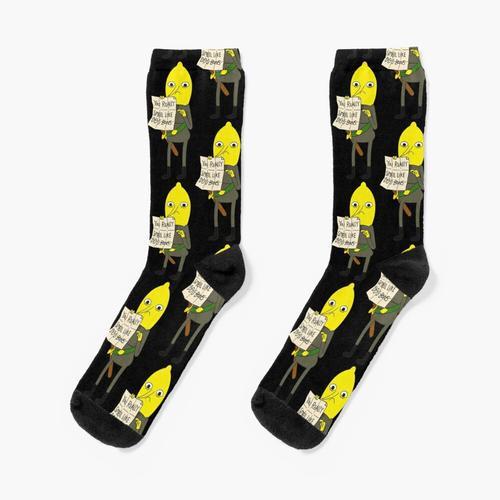 Zitronengras Socken