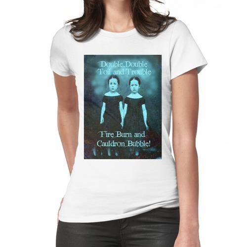 Doppel, Doppel, Mühe und Ärger Frauen T-Shirt