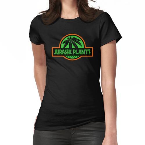 Jura Pflanzen - Cannabis, Ganja, Marihuana, Canabidiol, Gras, Dope, Pot Frauen T-Shirt
