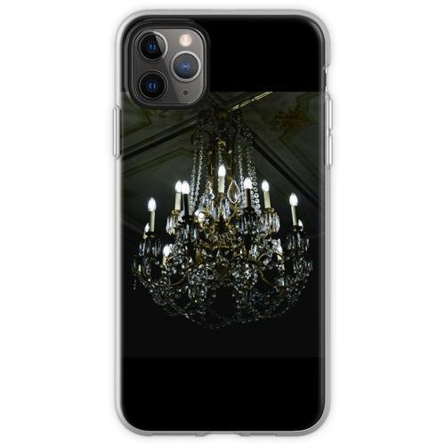 Französischer Noir Kronleuchter Flexible Hülle für iPhone 11 Pro Max