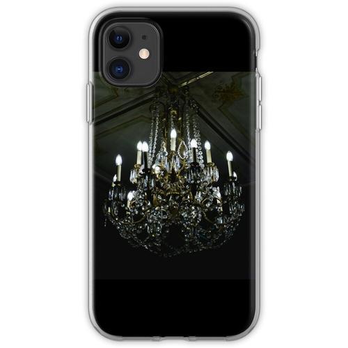 Französischer Noir Kronleuchter Flexible Hülle für iPhone 11