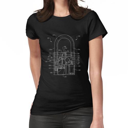 Original Pad Lock Patent Slim Fit T-Shirt