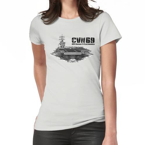 USS Dwight D. Eisenhower CVN-69 Frauen T-Shirt