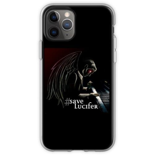 #SaveLucifer Lucifer am Klavier Flexible Hülle für iPhone 11 Pro