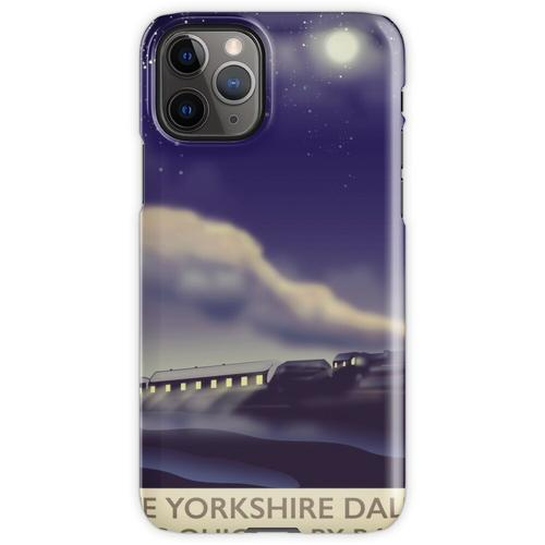 Das Yorkshire Dales Eisenbahnplakat iPhone 11 Pro Handyhülle