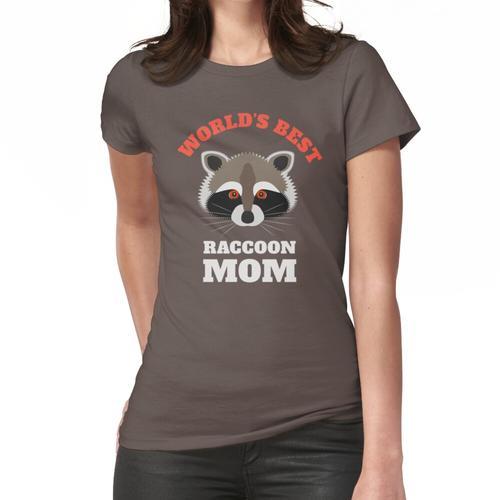 Die beste Waschbär-Mutter der Welt Frauen T-Shirt