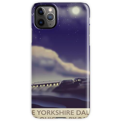 Das Yorkshire Dales Eisenbahnplakat iPhone 11 Pro Max Handyhülle