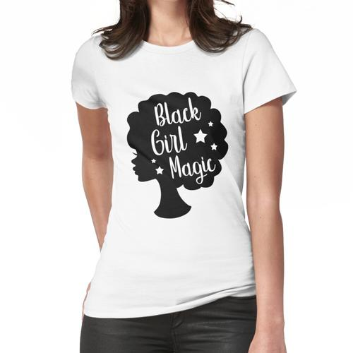 Hintergrundmusik Silhouette Frauen T-Shirt