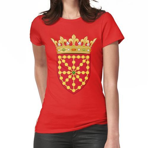 Flagge von Navarra - Bandera Navarrese Frauen T-Shirt