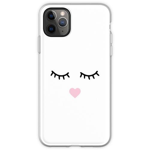 Süße Wimpern - Wimpern, Mascara Flexible Hülle für iPhone 11 Pro Max