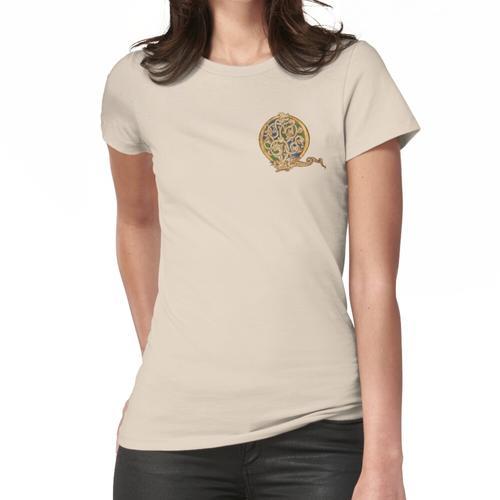 Beleuchtetes Q Frauen T-Shirt