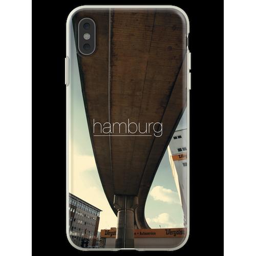 Hamburger Eisenbahn Flexible Hülle für iPhone XS Max