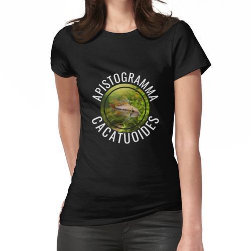 Kakadu - Zwergbuntbarsch - Aquarium Frauen T-Shirt