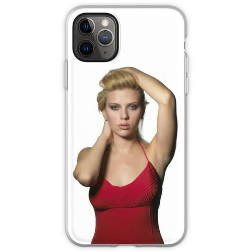 SJ Sexy Roter Anzug Flexible Hülle für iPhone 11 Pro Max