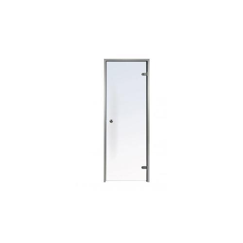 Tür für professionelle Hammam 100 x 190 cm aus vorgespannte Glas 1