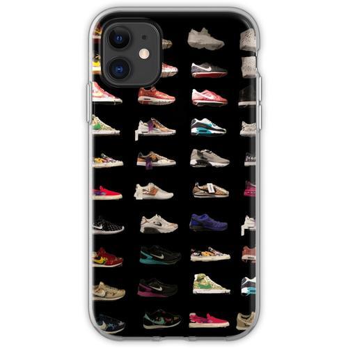 Schuhe auf Schuhen auf Schuhen Flexible Hülle für iPhone 11
