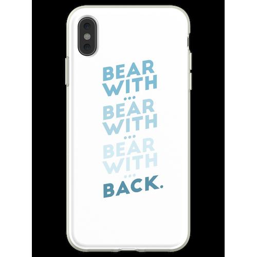 tragen mit ... tragen mit ... v.2 Flexible Hülle für iPhone XS Max
