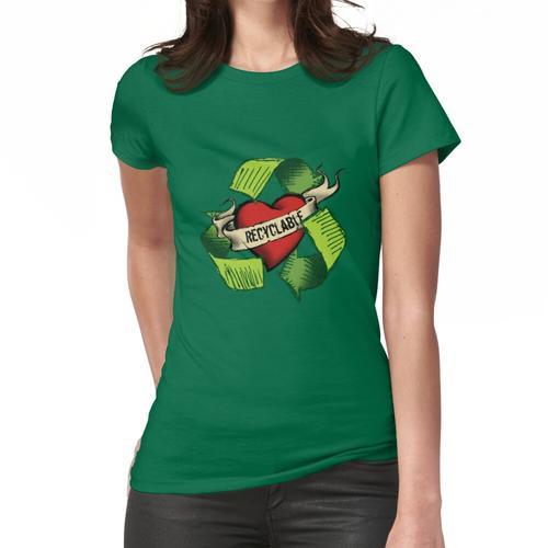 Ich bin recyclebar Frauen T-Shirt