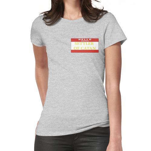 Hallo, meine Berufsbezeichnung ist SETTLER Frauen T-Shirt