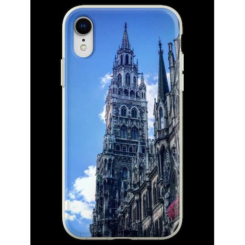 Marienplatz München Flexible Hülle für iPhone XR