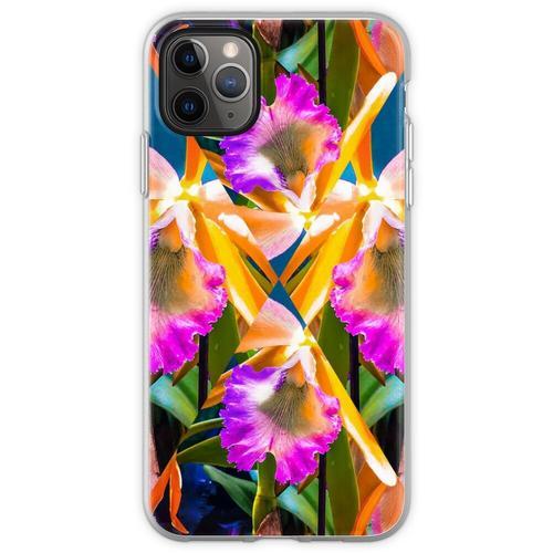 Orchideen Orchideen Orchideen Orchideen Flexible Hülle für iPhone 11 Pro Max