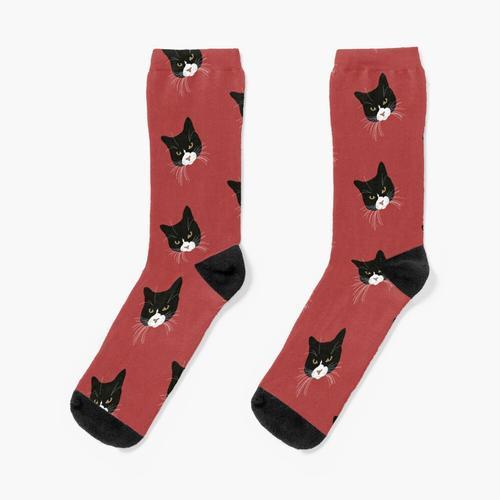 Smoking Katze Socken