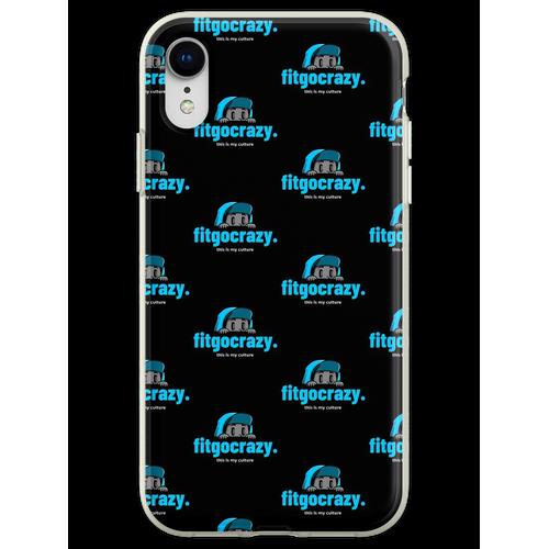 fitgocrazy - Modelinie - Kultur Flexible Hülle für iPhone XR