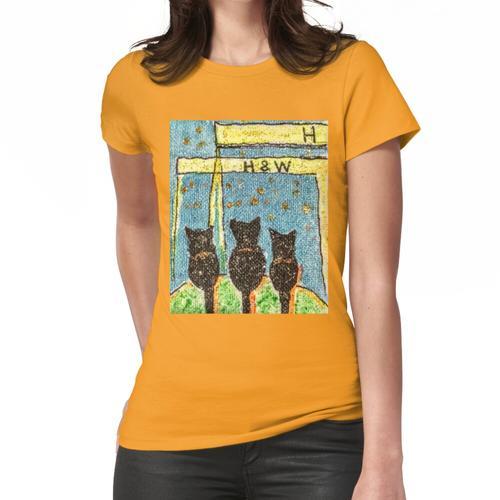 """""""flauschig bei H & W Frauen T-Shirt"""
