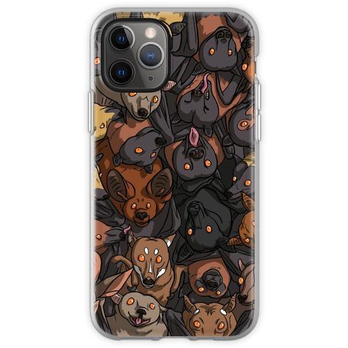 Fledermäuse Fledermäuse Fledermäuse! Flexible Hülle für iPhone 11 Pro