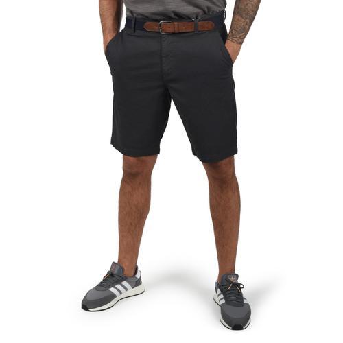 Blend Chinoshorts Kearney, (mit abnehmbarem Gürtel), kurze Hose im Chino-Stil mit Gürtel grau Herren Chinohosen Hosen