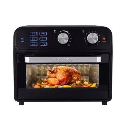 Kalorik 22 Quart Digital Air Fryer Toaster Oven by Kalorik in Black