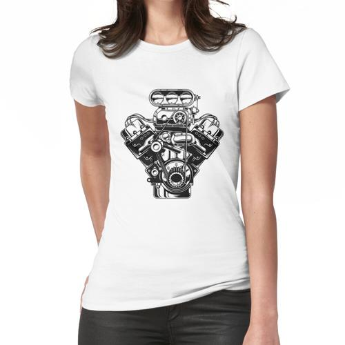 Kompressor B & W Frauen T-Shirt