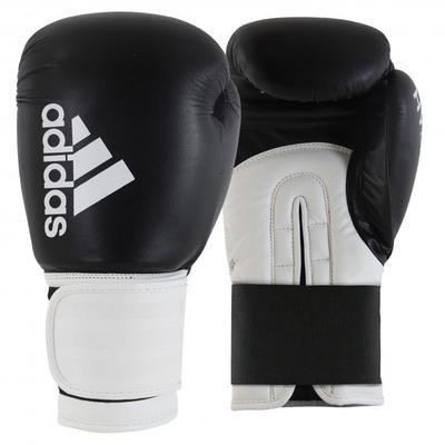 adidas Hybrid 100 Boxing Gloves Black/White