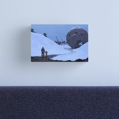 Nordiska Gobi Canvas Print