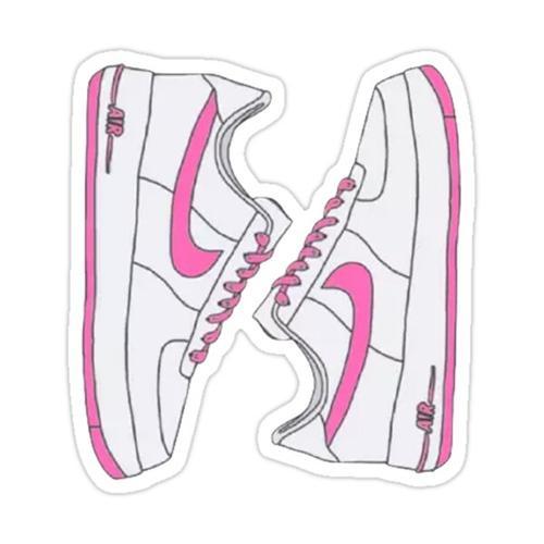 Retro sneakers Sticker