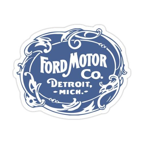 Classic Ford Motor Co. Sticker