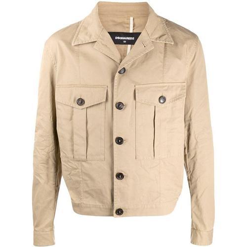 DSquared² Leichte Jacke mit Taschen