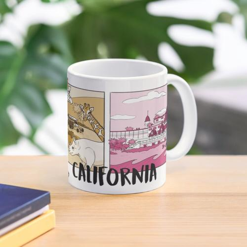 San Diego Color Mug
