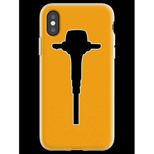 Bohrhammer Bohrhammer Flexible Hülle für iPhone XS