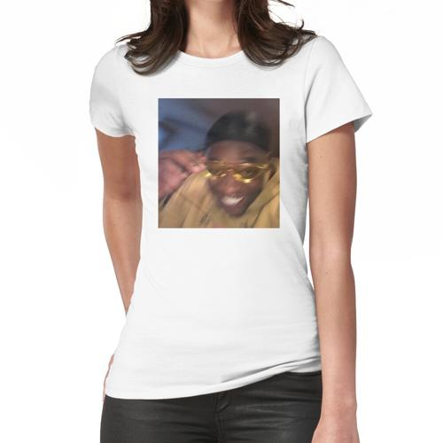 Gelbe Brille Meme Guy Frauen T-Shirt