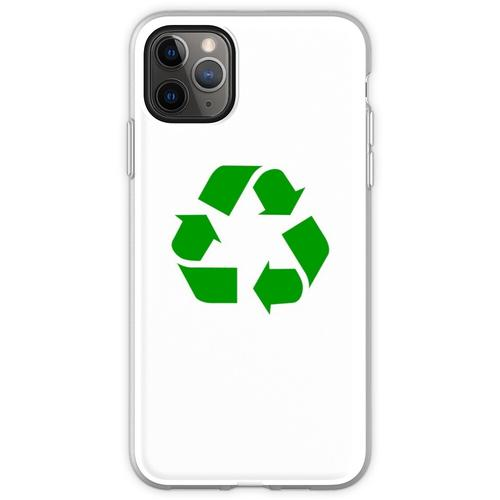 Recycling Recycling-Logo Flexible Hülle für iPhone 11 Pro Max