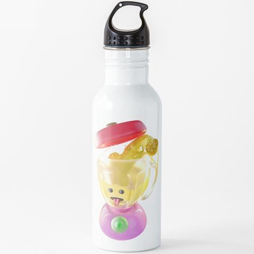 Lemmon Saft Mixer Wasserflasche