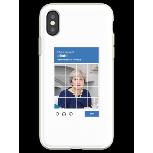 reCAPTCHA - Theresa Mai Flexible Hülle für iPhone XS